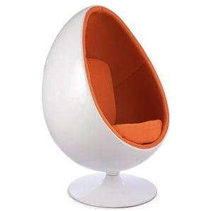 Ovaler Egg Sessel - Orange