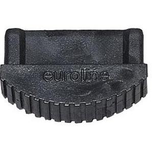 Euroline Premium Leiterfuß schwarz 74x25mm