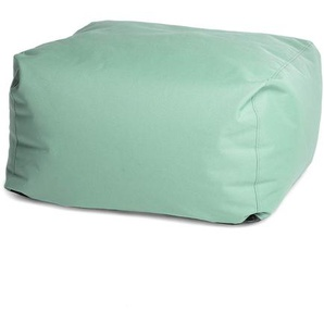 Loungehocker, 75x75x36cm, grün