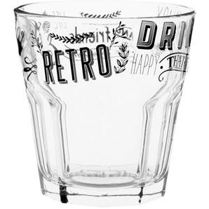 Glas aus bedrucktem Glas