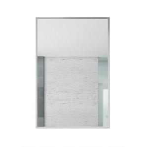 Spiegel Concave 400 x 600mm - silber - Aluminium - BADPLAATS