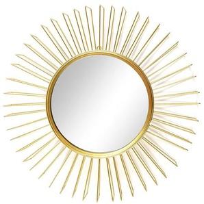 Spiegel Sonnenrahmen, D:47cm, gold