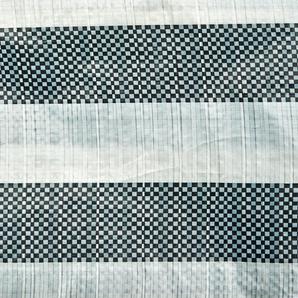 Seitenteile für Gartenpavillon Kunststoff 298 x 196 cm grün-weiß