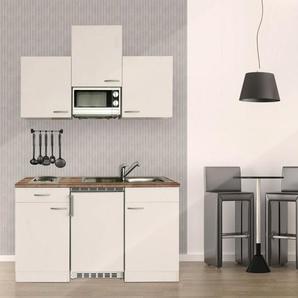 RESPEKTA Küchenzeile mit E-Geräten »Single Küche«, Gesamtbreite 150 cm