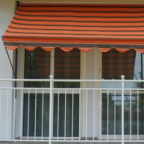 Angerer Klemmmarkise Dralon Nr. 6100, Orange, 150 cm