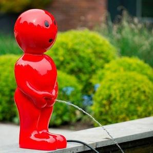 UBBINK Wasserspiel »BOY VII«, BxTxH: 16x16x45,5 cm, rot