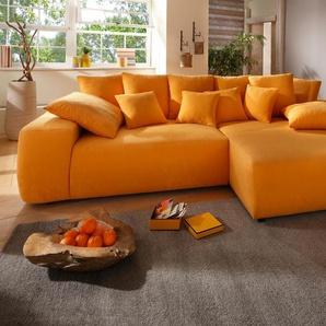 Home Affaire Eckcouch mit Schlaffunktion, orange