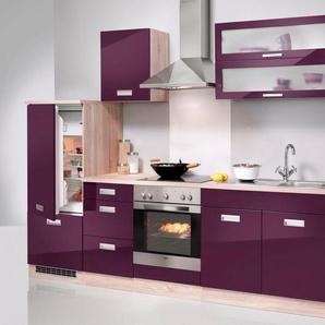 HELD MÖBEL Küchenzeile mit E-Geräten »Fulda, Breite 270 cm«