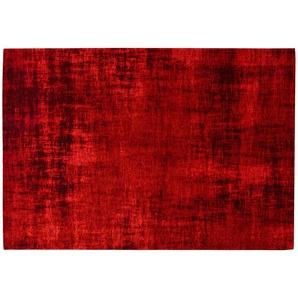 Webteppich  Harmonie ¦ rot ¦ 33% Polyester, 34% Chenille Acryl, 33% Baumwolle, Synthethische Fasern ¦ Maße (cm): B: 130 Teppiche  Wohnteppiche  Vintage Teppiche » Höffner