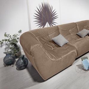 Domo Collection Big Sofa, braun