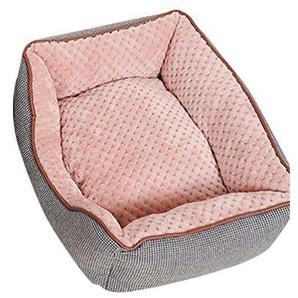 ZKOO Hundebett Katzenbett Hundekorb Warm Pet Bett Kissen für Hunde Katzen Kleintiere (Grau,M)