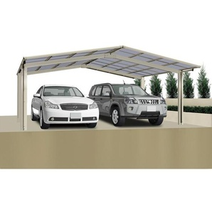 Ximax Design-Doppelcarport Linea 60 M-Ausführung, Farbe der Profile:Schwarz