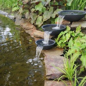 ACQUAARTE/UBBINK Wasserspiel »Mistaya«, 3 Schalen in verschiedenen Größen