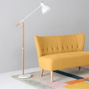 Charley 2-Sitzer Sofa, Dottergelb