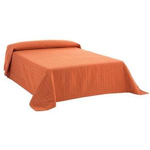 Martina Home Ribera Foulard Mehrzweck/Plaid, Stoff 270x300x1 cm orange