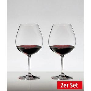 RIEDEL Rotweinglas / Weinglas im 2er Set für je 700 ml VINUM Burgunder/Pinot Noir