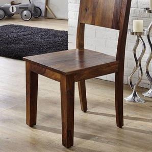 Stuhl Sheesham 45x45x90 lifehoney lackiert METROLIFE #167
