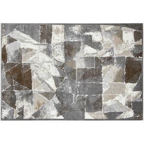 Kurzflorteppich  MoveOne ¦ grau ¦ 100% Polypropylen, Synthethische Fasern ¦ Maße (cm): B: 80 Teppiche  Wohnteppiche » Höffner