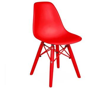 Kinder Stuhl DSW Color - Rot
