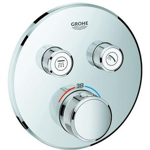 GROHE GROHE Thermostat Grohtherm SmartControl29119 FMS rund 2 ASV supersteel