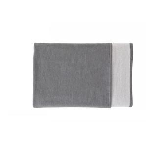 Ibena Wohndecke »Cotton Pur«, 140x200 cm, aus 100% Baumwolle, grau