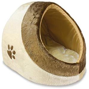ARQUIVET 8435117801073–Höhle für Katzen Dream 41x 42x 26cm beigemarron