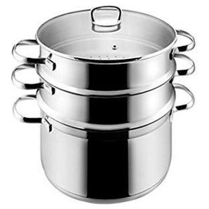 DD Suppentopf 24cm Edelstahl Doppel Steamer Eintopf Multi Kombination Kocher Gas Apply Muttertag Vatertag Geschenk