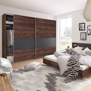 Wimex Schlafzimmer-Set »Angie«, (Set, 4-tlg), grau