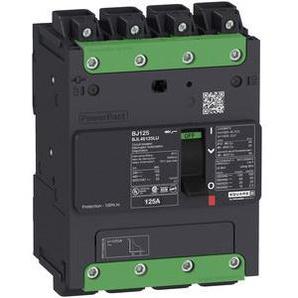 SCHNEIDER ELECTRIC Leistungsschalter Powerpact B 45A TM45D 4P 35kA/480V EverLink