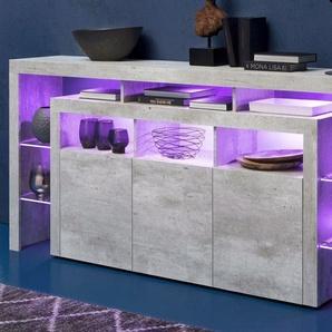 Sideboard, weiß, borchardt Möbel