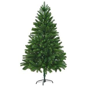 vidaXL Künstlicher Weihnachtsbaum Naturgetreue Nadeln Spritzguss 180 cm Grün