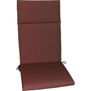 : Sesselauflage, Beere, B/H/T 50 120 4