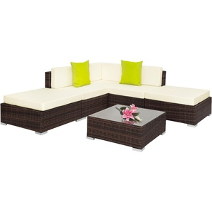 garten loungem bel in braun preise qualit t vergleichen m bel 24. Black Bedroom Furniture Sets. Home Design Ideas
