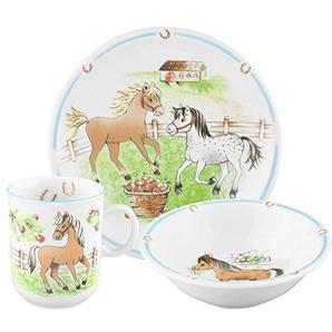 Seltmann Weiden 001.716566 Compact - Mein Pony - Kinder-Set 3-teilig - Porzellan