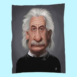 Albert Einstein-Fleecedecke