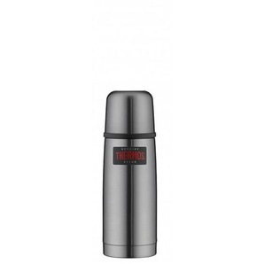 THERMOS by alfi Thermosflasche 350 ml LIGHT & COMPACT Edelstahl Cool Grau