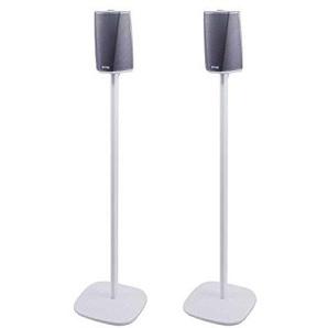 Vebos Standfuß Denon Heos 1 weiß EIN Paar - Hohe Qualität en optimales Klangerlebnis in jedem Zimmer - Hier können Sie Ihre DENON HEOS 1 überall setzen, wo Sie es wollen - DENON HEOS 1 EIN Paar