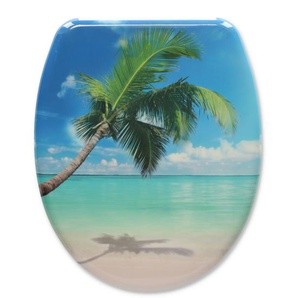 Schütte WC-Sitz Caribbean blau