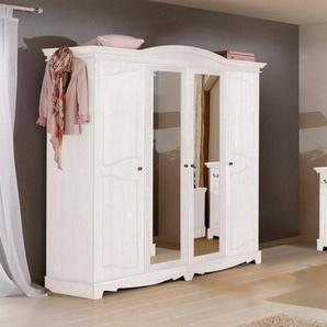 Home affaire Kleiderschrank »Romantika« aus massiver Kiefer