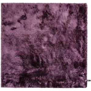 Hochflorteppich Whisper Lila 200x200 cm
