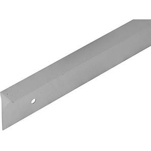 FMK 900mm Küchen Arbeitsplatten Ecke quadratisch Gelenk Q3Profil, 40mm hoch, Satin 3mm Radius
