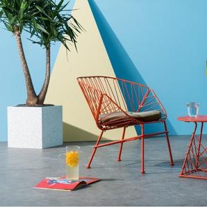 Tega Lounge-Set, Rot