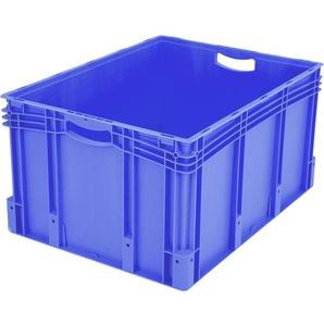 BITO-Lagertechnik Eurostapelbehälter XL mit Doppelboden / XL 86421D 800x600x420 blau Doppelboden
