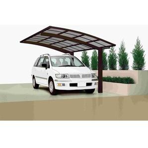 Ximax Design-Carport Portoforte 80 Standard, Farbe der Profile:Winterweiss