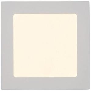 Brilliant Leuchten Kolja LED Einbauleuchte 17x17cm fest weiß