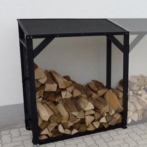 PROMADINO Erweiterungselement »Speyer«, für Kaminholzregal, BxTxH: 118,5x68x148 cm