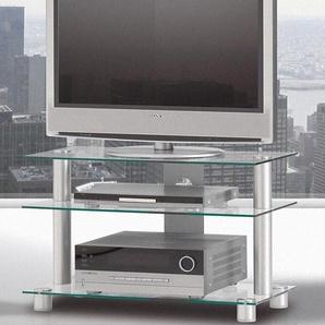Spectral TV-Rack »just-racks TV-8553«, silber, pflegeleichte Oberfläche