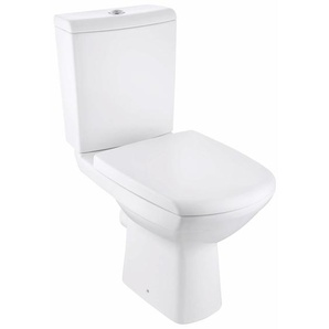 Design Line Stand-WC-Set Carina Tiefspüler Weiß spülrandlos