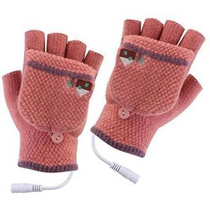 Tomobile Elektrische Heizhandschuhe für den Winter, USB-Handwärmer, Heizung für Finger, warm, Sicherheits-Thermostat