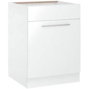wiho Küchen Spülenschrank »Flexi2« Breite 60 cm, weiß